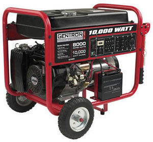 Gentron 10,000 Watt Portable Gas Generator