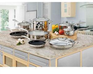Cuisinart 14-pc. Stainless Steel Cookware Set