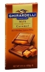 RItter, Ghirardelli or Lindt Chocolate Bars w/ Card