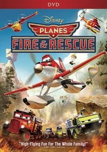 Planes Fire & Rescue DVD + $3 Back in Points