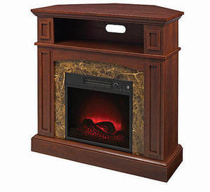 Essential Home Finley Corner Fireplace
