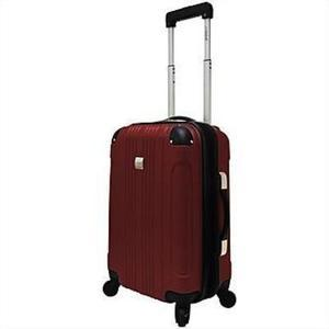 "U.S. Traveler Lightweight Hard Spinner 21""- Graphite/Merlot"