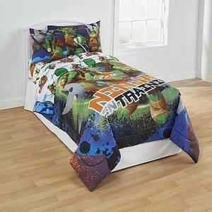 Teenage Mutant Ninja Turtles Twin Comforter