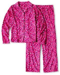 Total Girl Cheetah Fleece Sleep Set