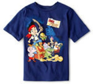 Disney Jake and the Neverland Pirates Tee
