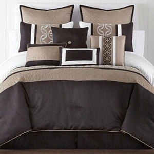 Home Expressions Cambria 10-pc. Comforter Set & Accessories