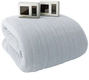 Biddeford Heated Plush Blanket (Twin or Full)
