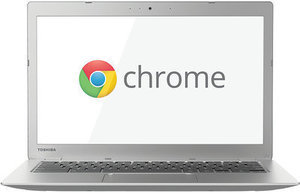 "Toshiba Chromebook 13.3"" Laptop w/ 16GB Storage"