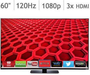 """Vizio 60"""" 1080p 120Hz Smart LED HDTV E600i-B3"""
