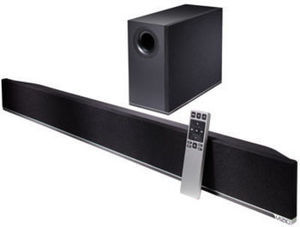 "Vizio 38"" Sound Bar w/ Wireless Subwoofer"