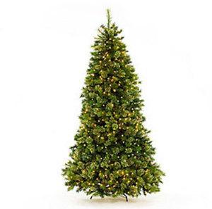 Deluxe 7.5' Prelit Cashmere Tree