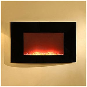 "35"" Wall Mount Fireplace"