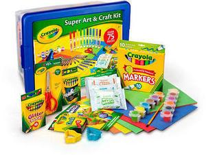 Crayola Super Art & Craft Kit