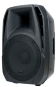 "American DJ 15"" Powered PA Speaker"