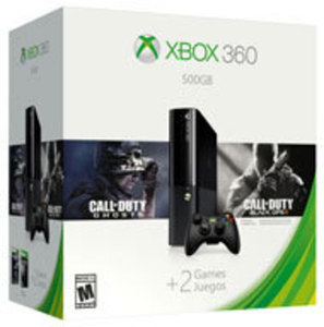 Xbox 360 500GB Call of Duty Bundle