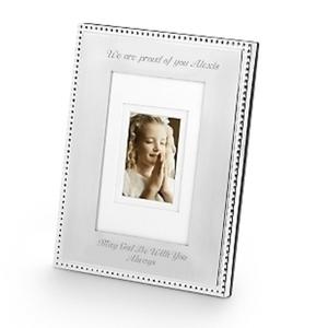 Portrait Silver Beaded 5 x 7 Frame