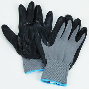 1-Pair Nitrile Coated Gloves