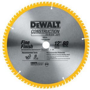 "Dewalt Construction 12"" Segmented Carbide Circular Saw Blade"