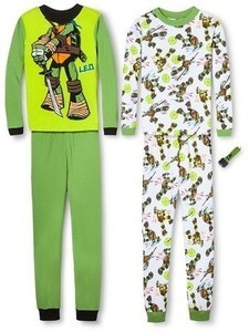 Teenage Mutant Ninja Turtles 4-Pc Pajamas Set