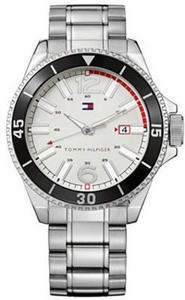 Tommy Hilfiger Watch, Men's Essential Silver-Tone Mixed Metal Bracelet 1790749