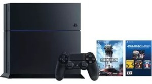 PlayStation 4 Star Wars: Battlefront Limited Edition 500 GB Console Bundle (PS4)