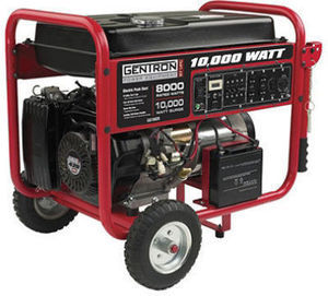 Gentron Portable Gas Powered Generator w/ Electric Start