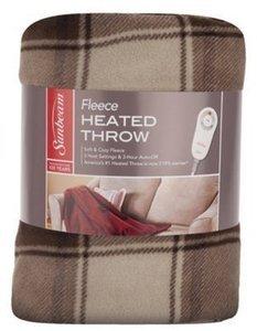 50x50 Fleece Electric Heated Throw