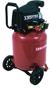 Craftsman 10 Gallon Vertical Air Compressors With Inflation Blow Gun (00916923)