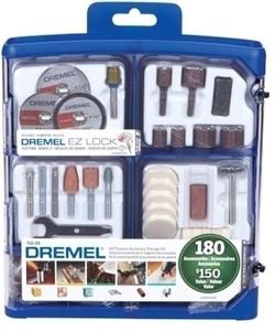 Dremel 180 Pieces All-Purpose Rotary Accessory Kit (710-09)
