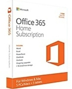 Microsoft Office 365 Home w/ Tablet or PC Purchase