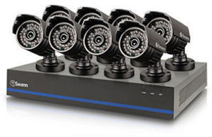 Swann 8 Channel 1080p TVI DVR Security System