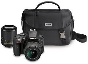 Nikon D3300 DX-format DSLR Bundle – Black (13473)