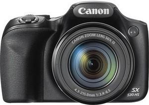 Canon PowerShot SX530 HS Digital Camera - Black