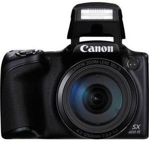 Canon Powershot SX400 IS 16.0 MP Camera with 30x Optical Zoom (Black)