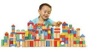150-Piece Wooden Block Set