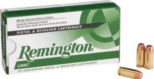 Remington UMC Pistol Ammo