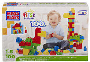 Mega Bloks First Builders 100-Count. Block Set
