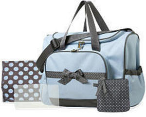 Baby Essentials 4 in 1 Diaper Bag - Blue