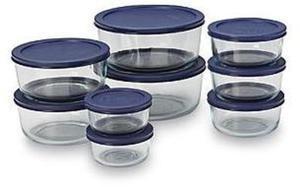 Pyrex 18-pc. Glass Storage Set