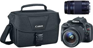 Canon EOS Rebel SL 18MP DSLR Camera Bundle Military Exclusive