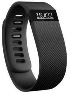 Fitbit Charge Wireless Activity + Sleep Wristband (Large, Black)