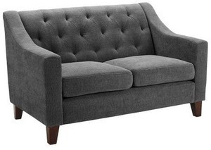 Tufted and Upholstered Loveseat -Threshold