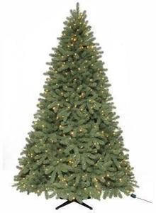 Martha Stewart 7.5 ft. Downswept Denison Pine Quick-Set Artificial Christmas Tree