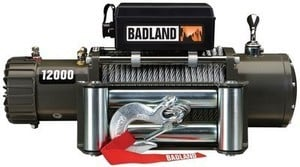 Badland 12000 lb. Off-Road Vehicle Electric Winch
