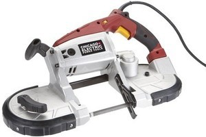 Chicago Electric 10 Amp Deep Cut Variable Speed Band Saw Kit