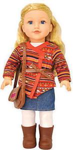 "18"" Caucasian Blonde Doll"