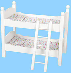"18"" Doll Furniture - Bunk Bed"