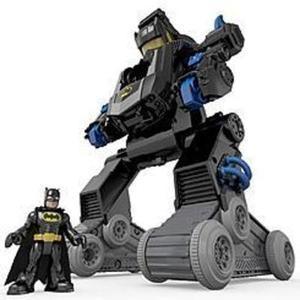 Imaginext DC Super Friends RC Transforming Bat Bot w/ Coupon #5