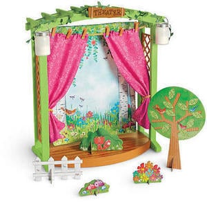 WellieWishers Garden Theater Stage
