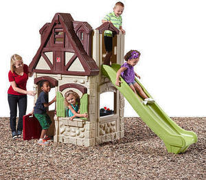 Step2 2 Story Playhouse with Slide